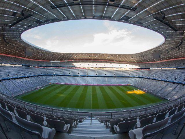 Innenraum spielfrei, Foto: Allianz Arena