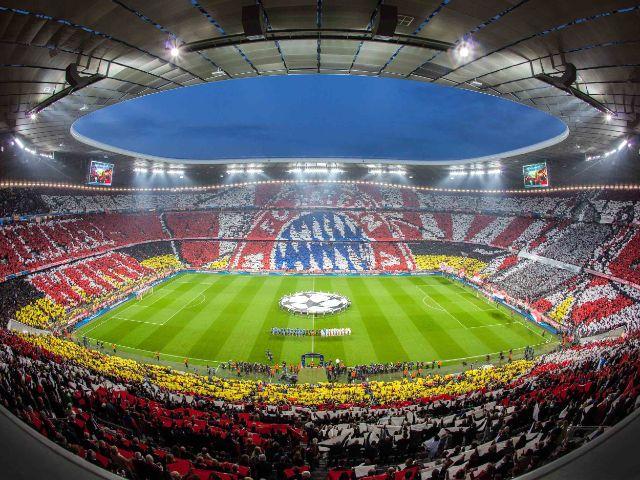 Innenraum, Foto: Allianz Arena