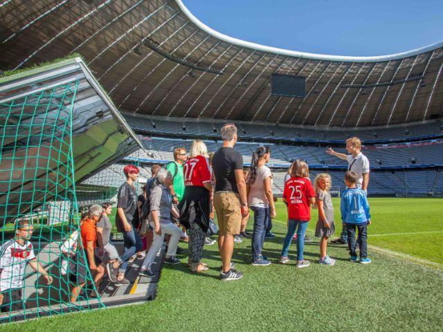 Spielertunnel, Foto: Allianz Arena