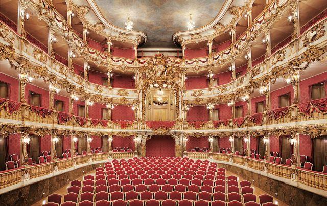 Cuvilliés-Theater Innen, Foto: Bayerische Schlösserverwaltung