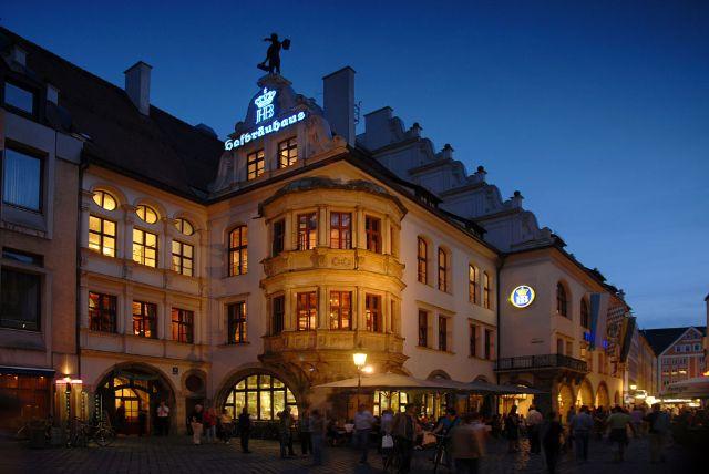 Hofbräuhaus Nachts, Foto: BBMC Tobias Ranzinger