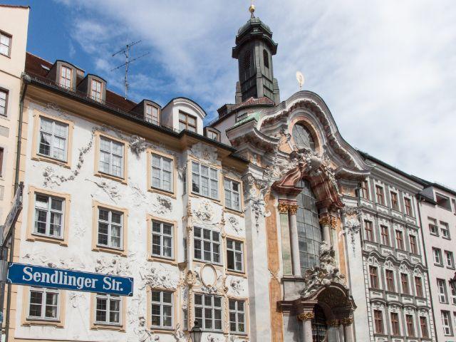 Asamkirche in der Sendlinger Straße, Foto: Sankt Michaelsbund
