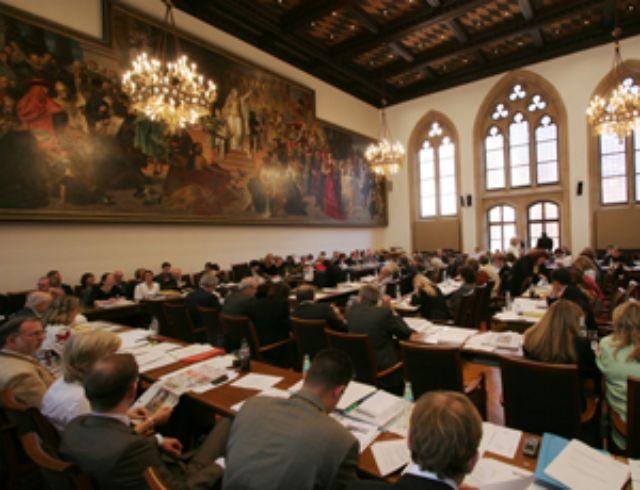Neues Rathaus München Großer Sitzungssaal