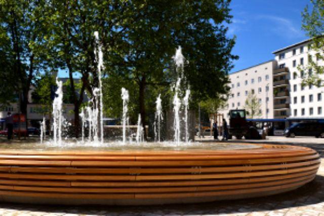 Harras Brunnen, Foto: Baureferat München