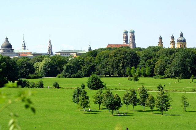 Englischer Garten Panorama, Foto: Nagy / Presseamt München