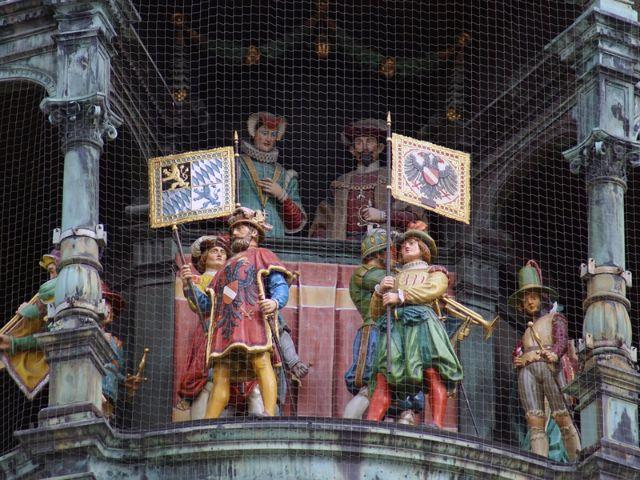 Glockenspiel am Marienplatz