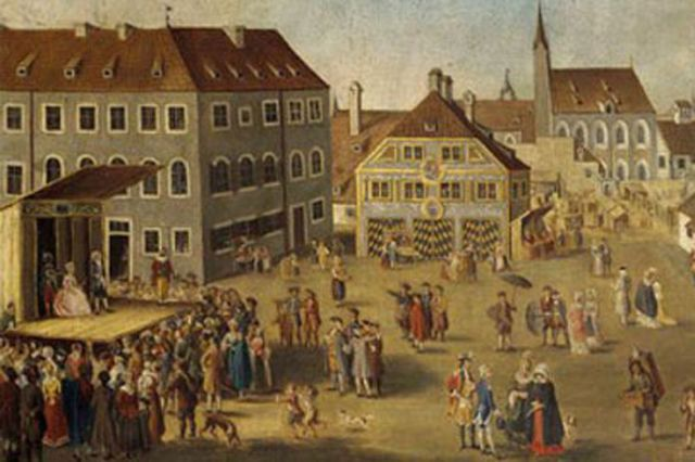 Sankt Jakobsplatz historisch , Foto: Münchner Stadtmuseum
