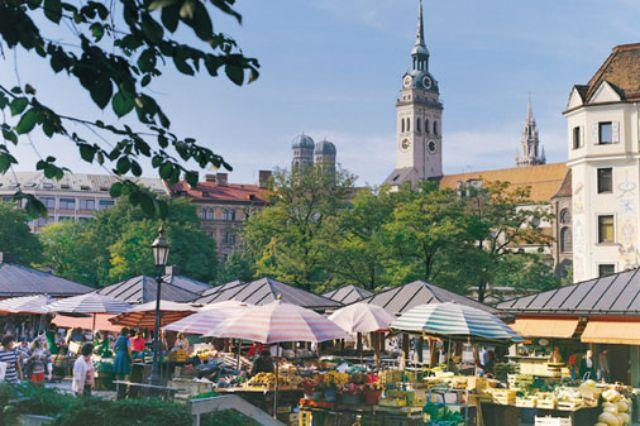 Viktualienmarkt, Foto: LHM
