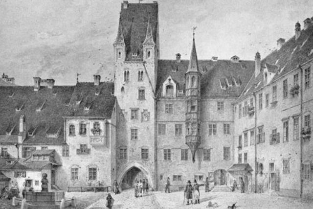 Alter Hof München, Foto: Carl August Lebschée / Wikipedia
