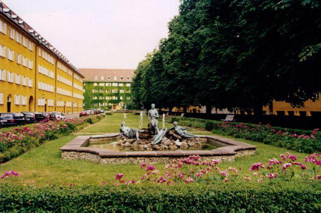Borstei Innenhof