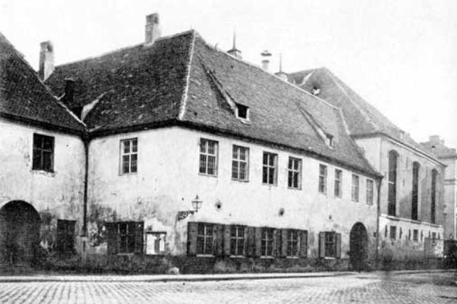 Historische Ansicht vom Hofbräuhaus, Foto: Georg Böttger