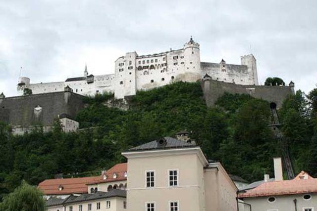 Hohensalzburg, Foto: Andrew Bossi / Wikipedia