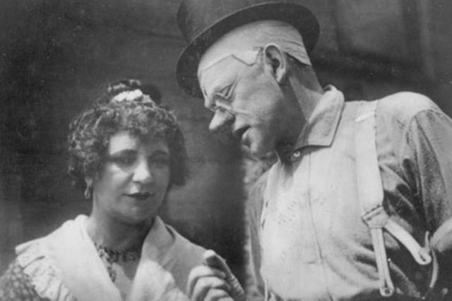 Liesl Karlstadt und Karl Valentin., Foto: Anonymous photographer / Wikipedia