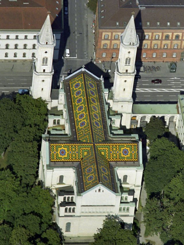 Ludwigskirche, Foto: M-Luftbild / Wikipedia