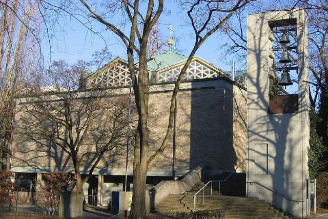 Nazarethkirche, Foto: Rufus46