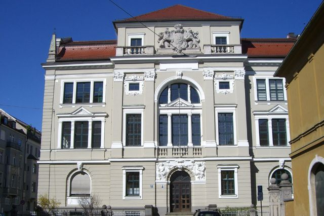 Fassade Paläontologisches Museum, Foto: Maximilian Dörrbecker