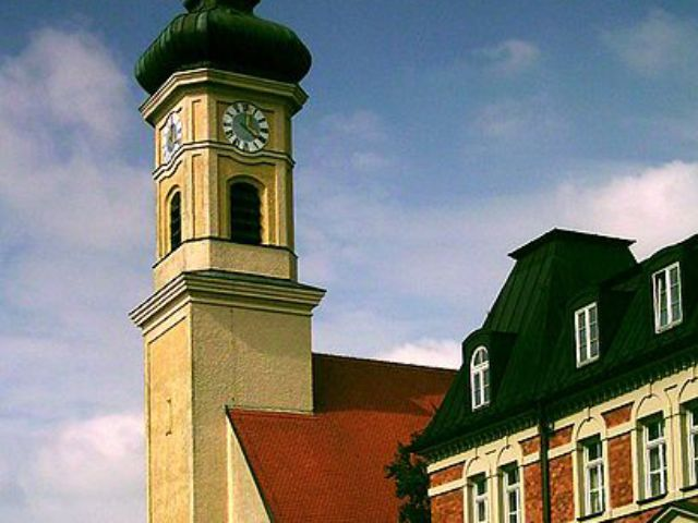 Sankt Achaz Kirche, Foto: Dominik Hundhammer