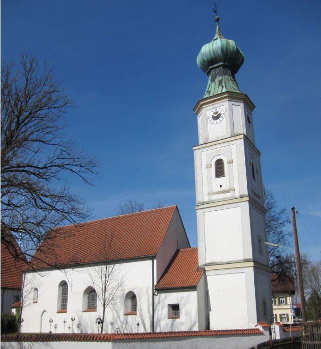 Sankt Georg Kirche in Obermenzing, Foto: AHert