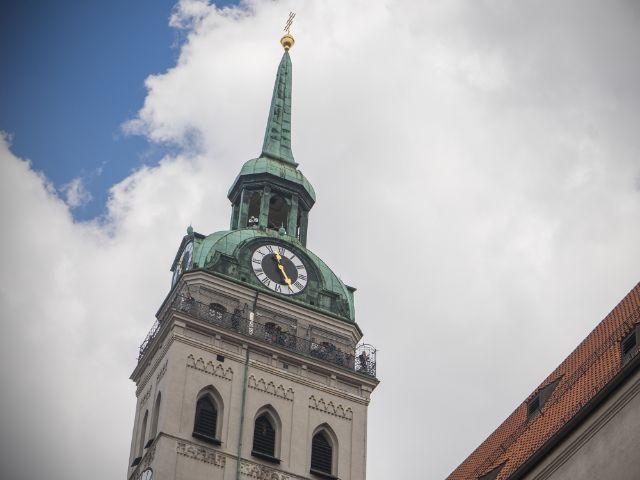 Der Turm von St. Peter , Foto: muenchen.de/Lukas Fleischmann