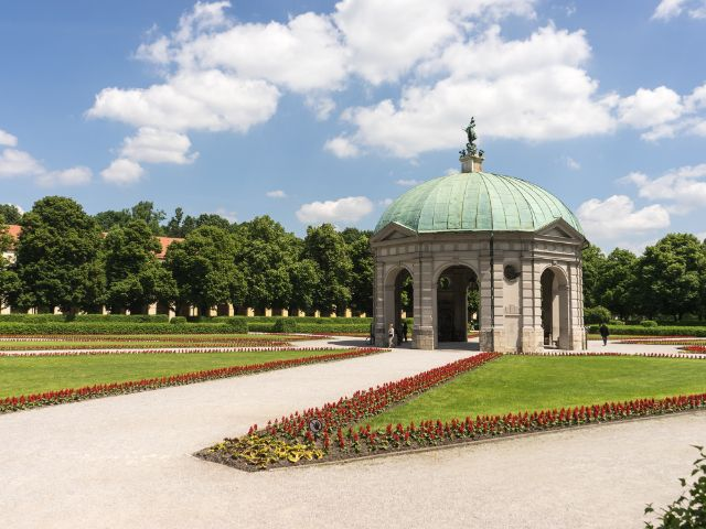Der Dianatempel im Sommer , Foto: muenchen.de/Lukas Fleischmann