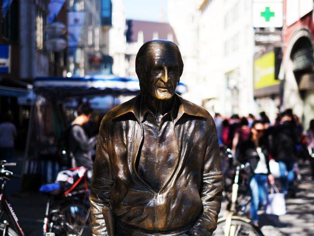 Denkmal für Sigi Sommer in München, Foto: Filippo Steven Ferrara
