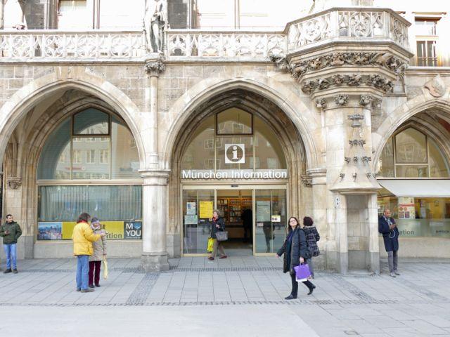 Münchner Stadtinformation im Rathaus, Foto: Melina Pfeffer / muenchen.de