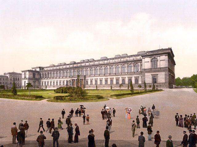 Alte Pinakothek 1900, Foto: Wikipedia