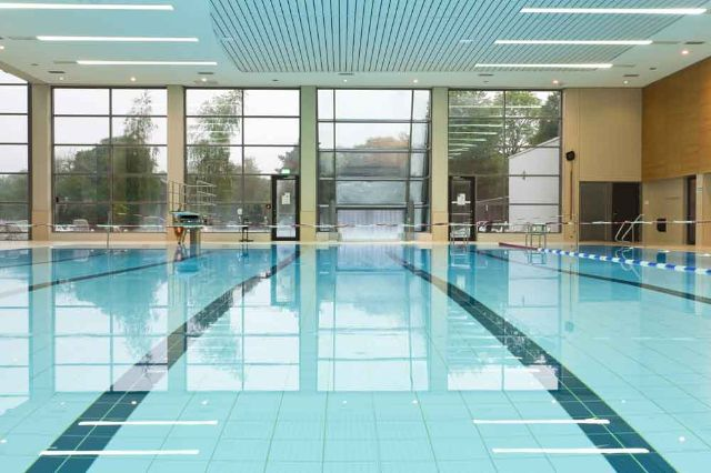 The concept of the Michaelibad is perfect for athletic audience, families and anyone who enjoys wellness., Foto: SWM