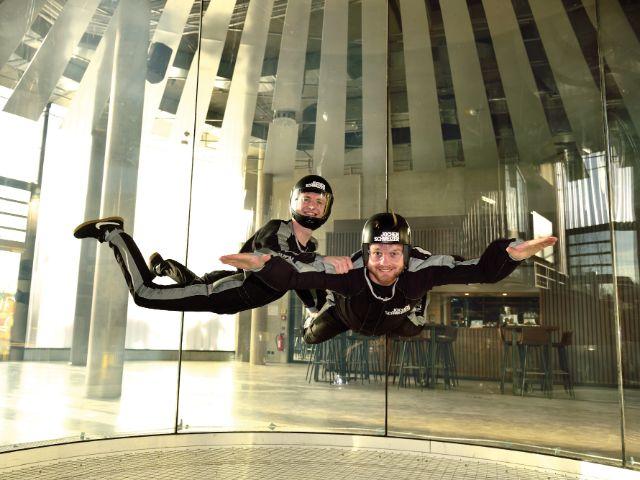 Bodyflying in der Jochen Schweizer Arena