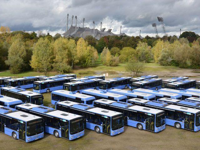 Neue Busse bei der MVG., Foto: MVG/Wolfgang Wellige
