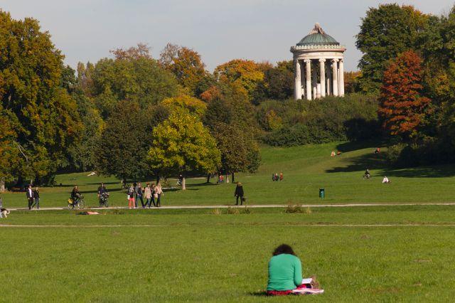 Englischer Garten im Herbst, Foto: Katy Spichal