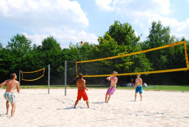Feringasee Volleyball, Foto: Michael Neißendorfer