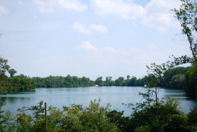 Langwieder See von Westen, Foto: Michael Neißendorfer
