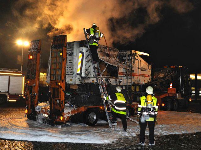 Einsatz der Feuerwehr Moosach, Foto: Berufsfeuerwehr München