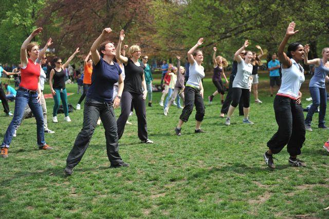 Fit im Park, Foto: Sportamt-Freizeitsport München