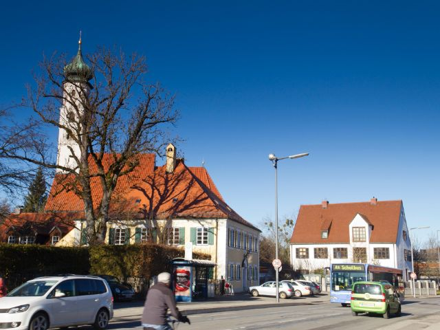 Heilig-Kreuz-Kirche in Forstenried, Foto: Katy Spichal