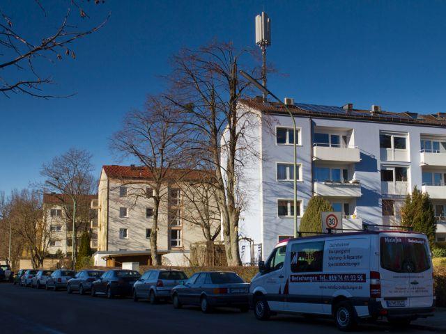 Wohngegend in München Fürstenried, Foto: Katy Spichal