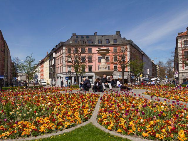 Der Gärtnerplatz, Foto: Katy Spichal