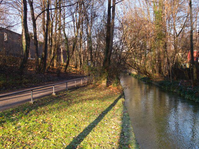 Westermühlbach in der Isarvorstadt/Glockenbachviertel, Foto: Katy Spichal