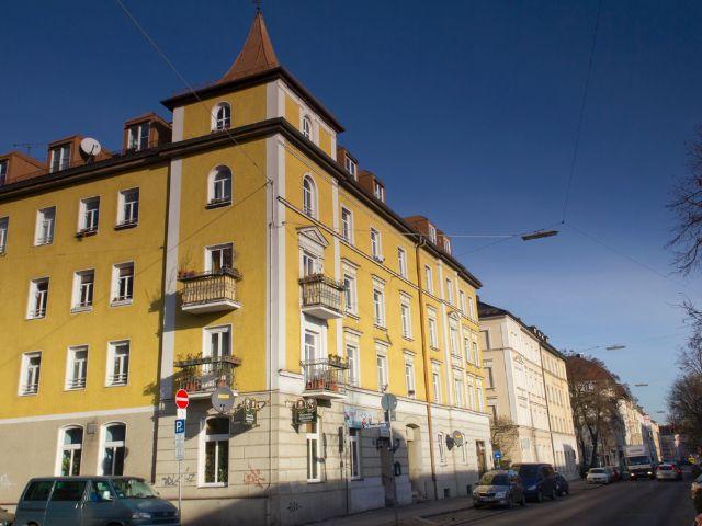 Wohngegend in München Isarvorstadt, Foto: Katy Spichal