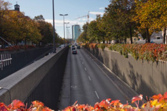 Landshuter Allee Richtung Donnersberger Brücke, Foto: Katy Spichal