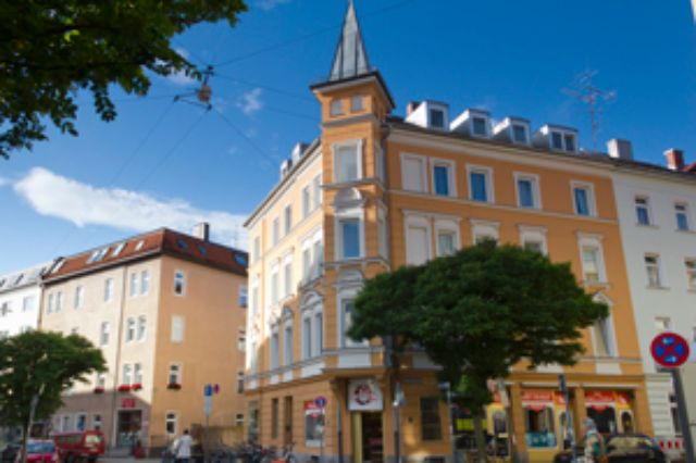 Wohngegend in München Neuhausen