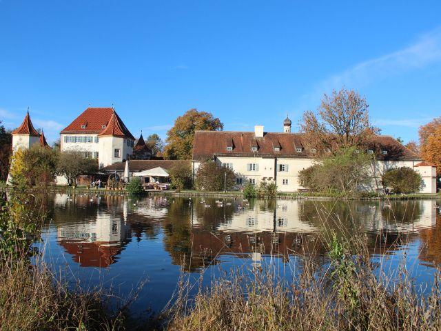 Blutenburg und Burgsee, Foto: Christian Brunner