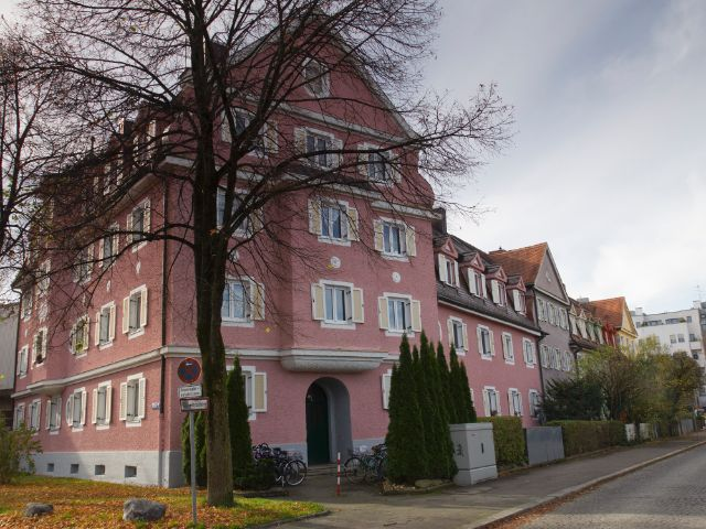 Wohngegend in München Obersendling