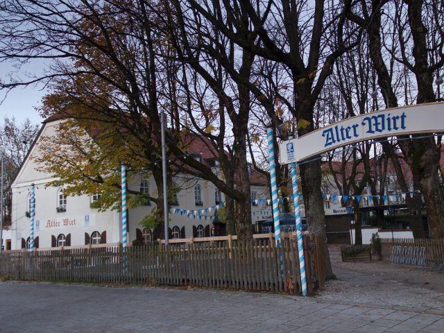 Der ehemalige Ortskern von München Ramersorf