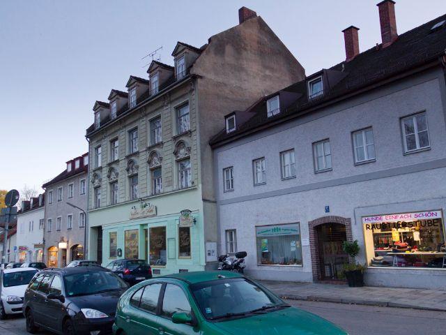 Wohngegend in München Ramersdorf