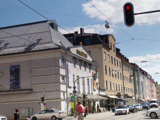 Wohngegend in München Schwabing-West