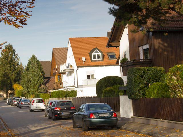 Wohngegend in München Trudering, Foto: Katy Spichal