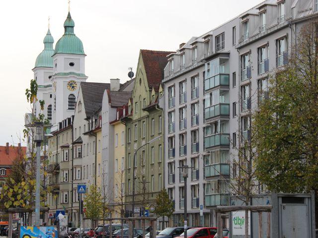 Häuserreihe in Untergiesing, Foto: Christian Brunner