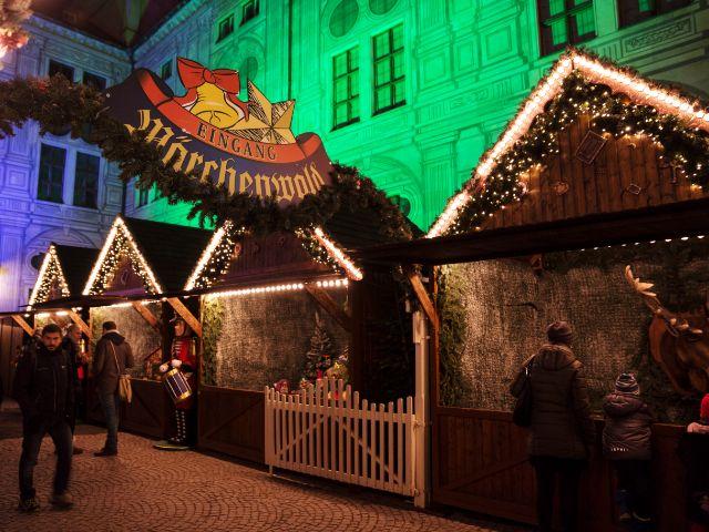 Weihnachtsdorf in der Residenz, Foto: muenchen.de/Katy Spichal
